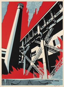 Shepard Fairey - signed and numbered limited print (free delivery in EU)