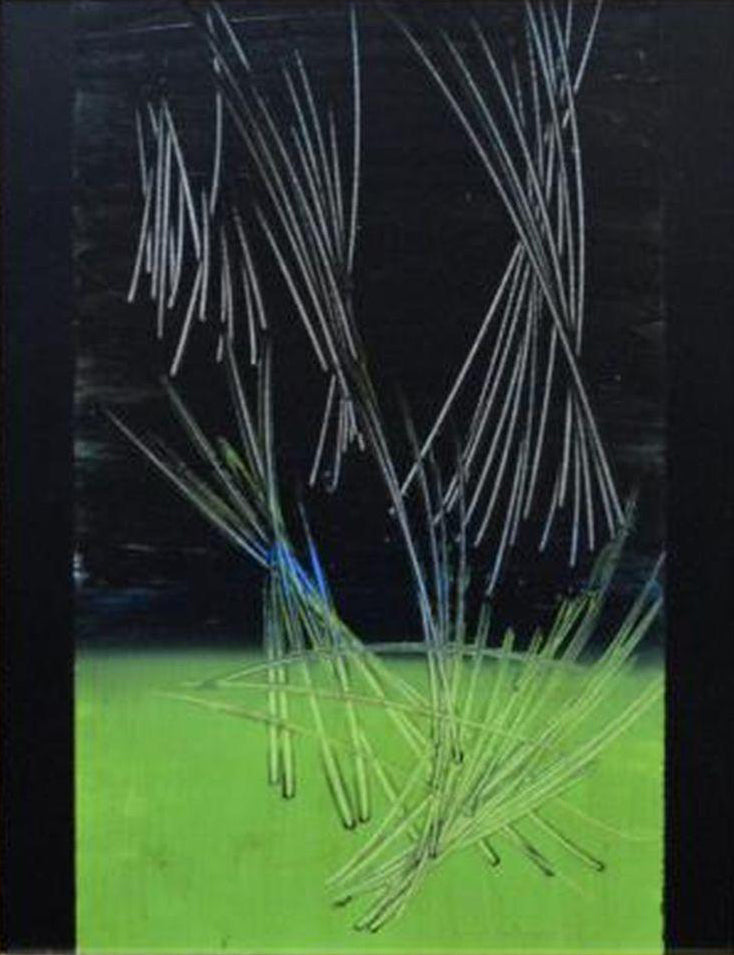 Hans Hartung - original work on panel