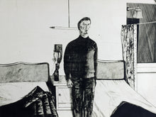 Load image into Gallery viewer, Kees Spermon - Hotelkamer Parijs. 1968 Etching - Hand signed - 10/15