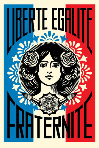 Shepard Fairey (Obey) - signed print (free delivery in EU)