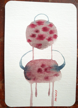 Load image into Gallery viewer, Ayna Paisley - original watercolor (free delivery in EU)