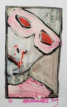 Load image into Gallery viewer, A Broken Universe - Wear my face 4 - original work
