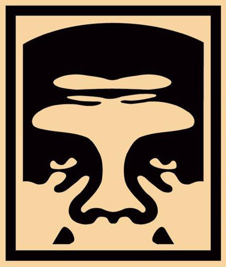 Shepard Fairey (Obey) - 3-FACE (Cream) Signed Poster Set (free delivery in EU)