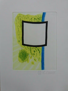 Roger Raveel - signed and numbered etching