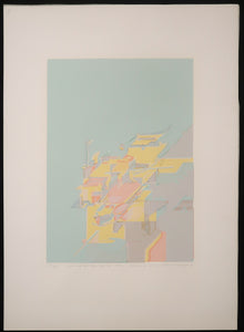 Gerard Brussee (1940-1988) - Signed Print (free delivery in EU)