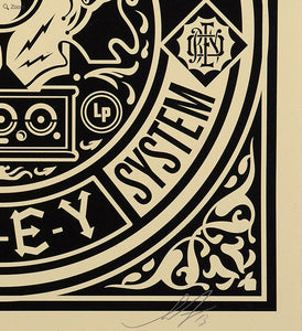 Shepard Fairey (Obey) - signed and numbered rare limited print (free delivery in EU)