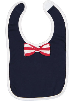 Infant Baby Bow Tie Bib