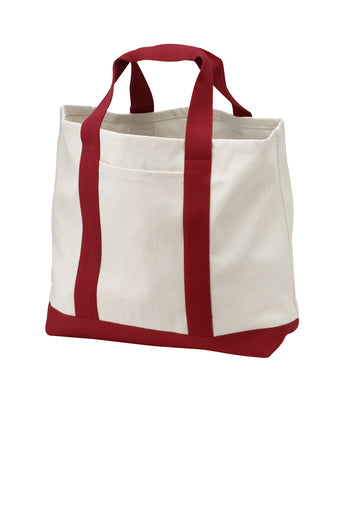 Two-Tone Shopping Tote