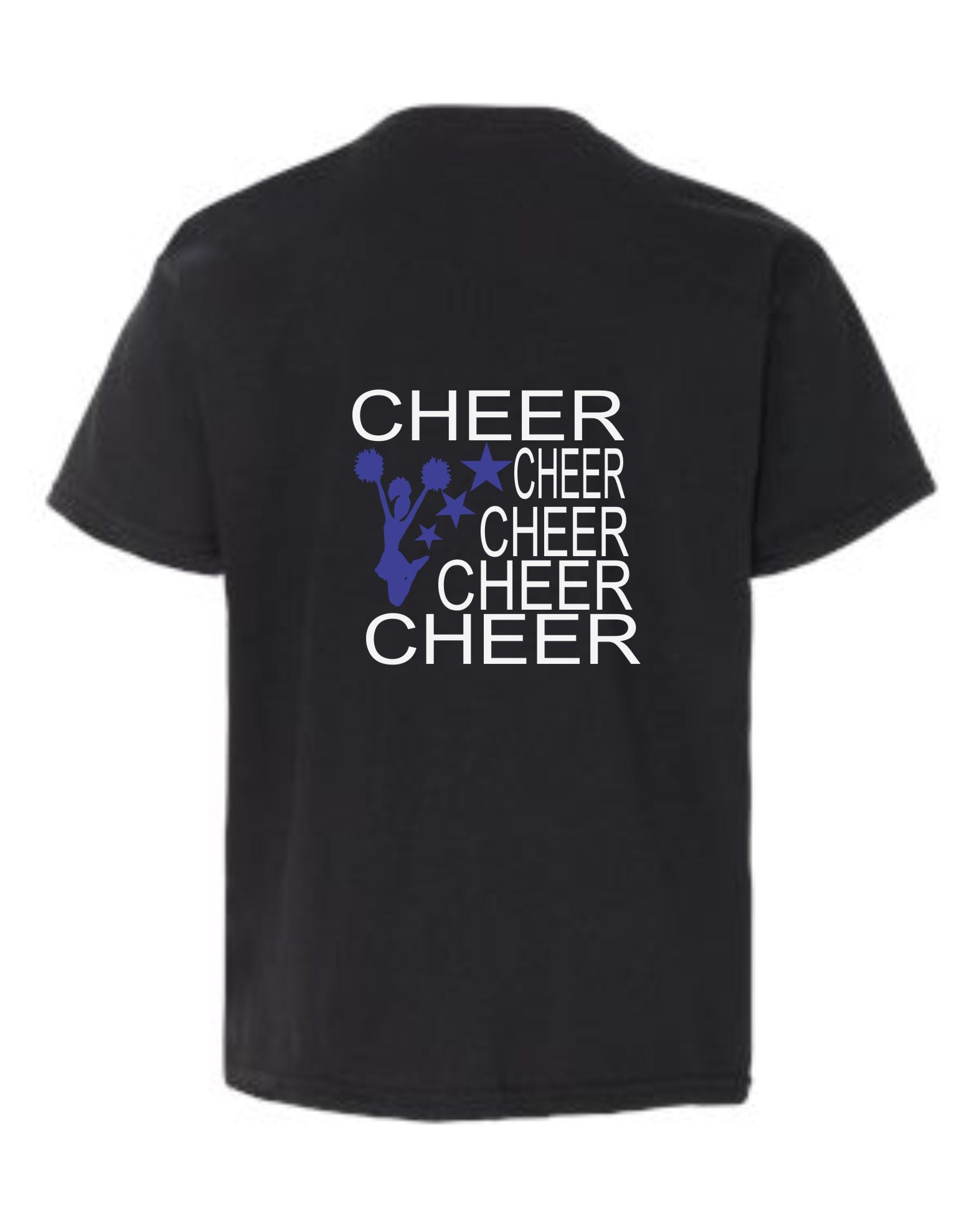 5 Cheers with Cheerleader and Stars