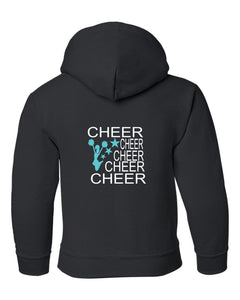 5 Cheers with Cheerleader and Stars Sweatshirt - BAY LAUREL