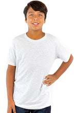 Youth Unisex Tri-Blend Short Sleeve Crew Neck Tee