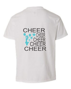 5 Cheers with Cheerleader and Stars - BAY LAUREL