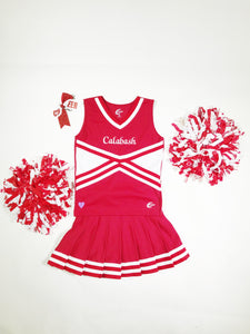 DELUXE CHEER UNIFORM PACKAGE - CALABASH