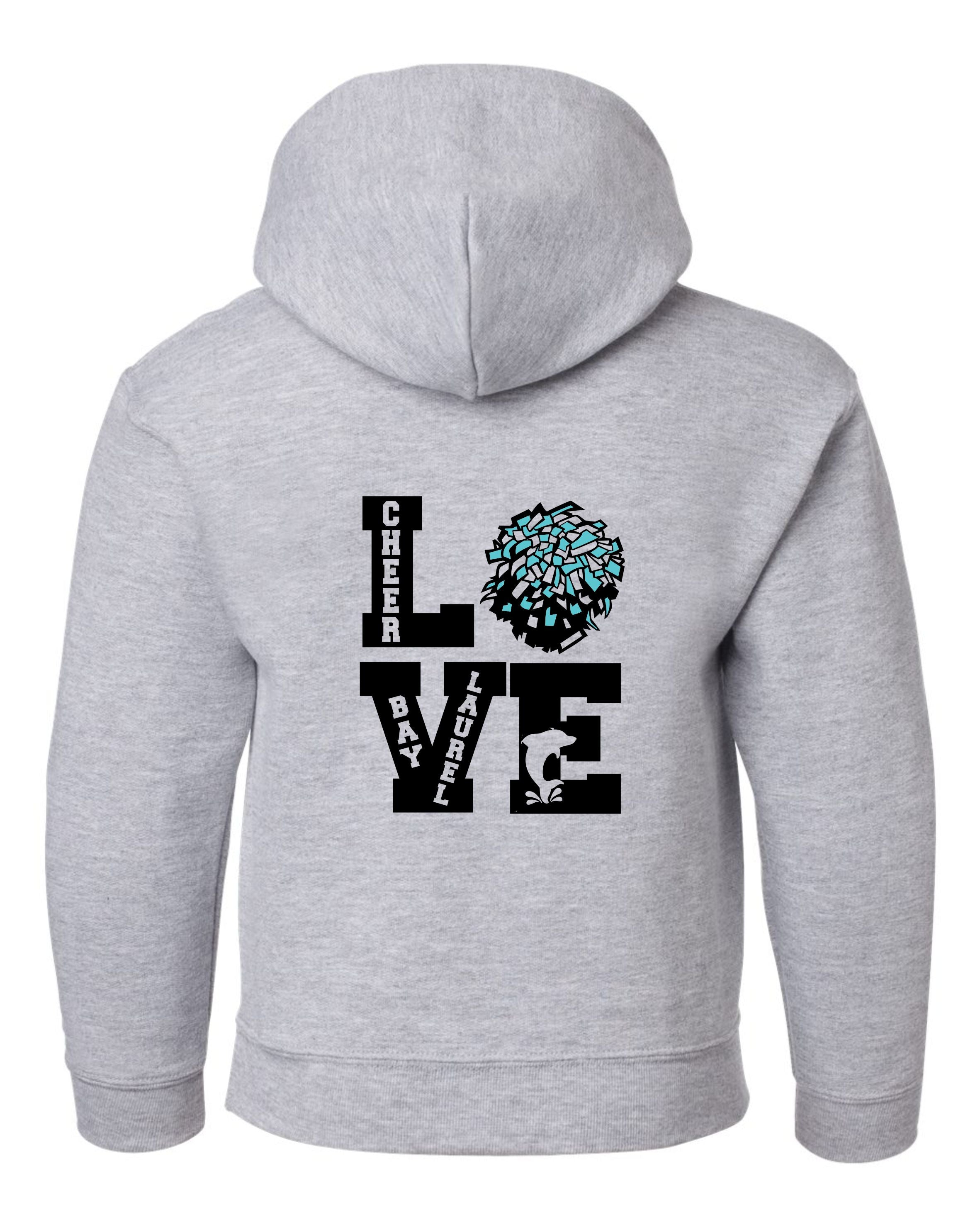 LOVE with School Mascot Bay Laurel Sweatshirt