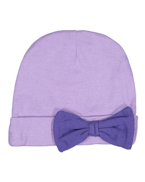 Premium Jersey Infant Bow Cap