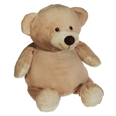 Baby Brown Teddy - EMBELLISHING REQUIRED