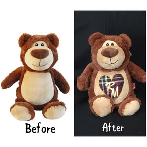 Teddy Bear - EMBELLISHING REQUIRED