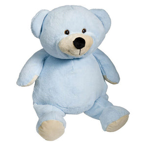 Baby Blue Teddy - EMBELLISHING REQUIRED