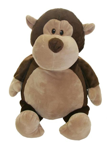 Monkey Plush - EMBELLISHING REQUIRED
