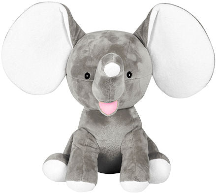 Elephant Plush - EMBELLISHING REQUIRED