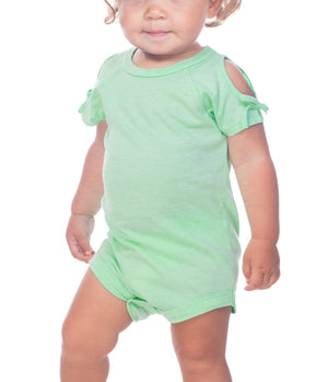 Infant Cold Shoulder Onesie