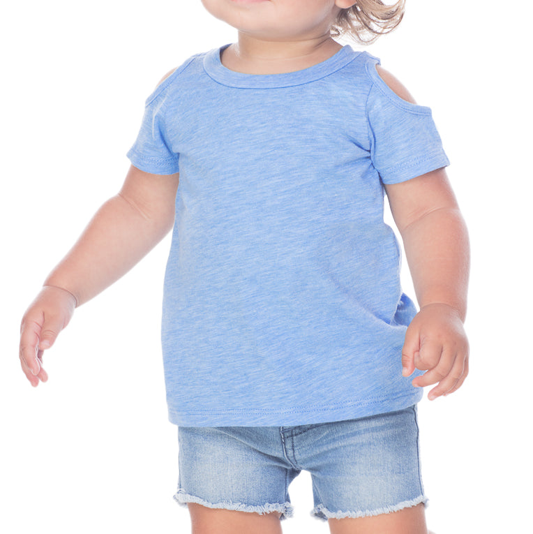 Infant Cold Shoulder Tee