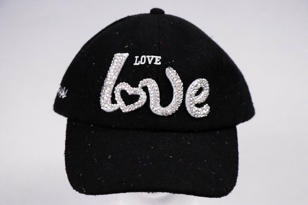 Rhinestone LOVE Hat