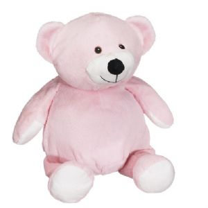 Baby Pink Teddy - EMBELLISHING REQUIRED