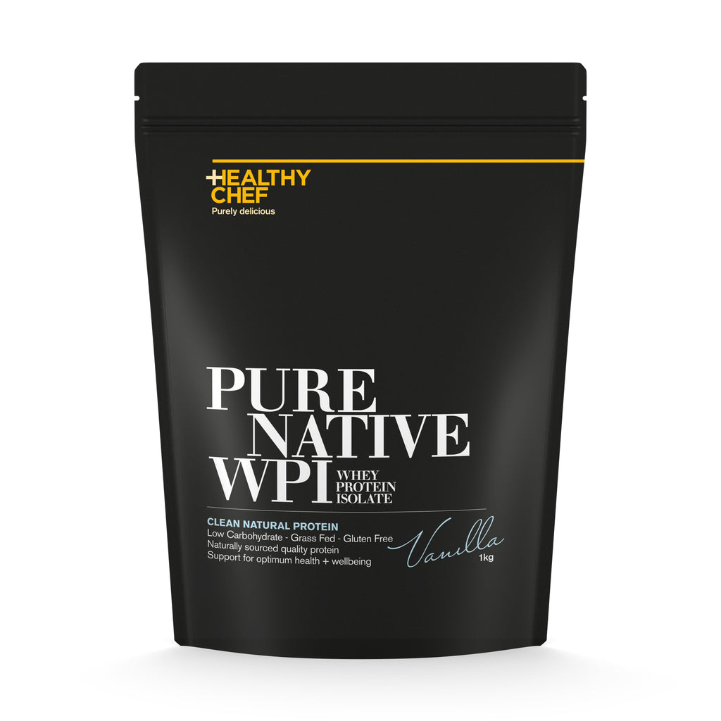Healthy Chef Pure Native WPI Now Available 1 Kg