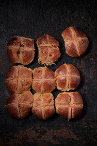 Purely Delicious Hot Cross Buns