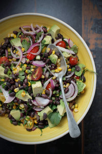 Blackbean + Sweetcorn Salad