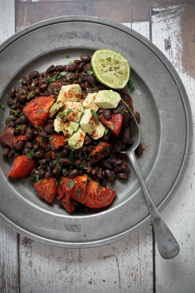 Refried Black Beans Recipe The Healthy Chef