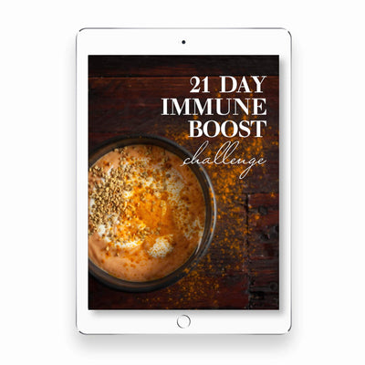 JOIN OUR 21-DAY IMMUNE BOOST CHALLENGE