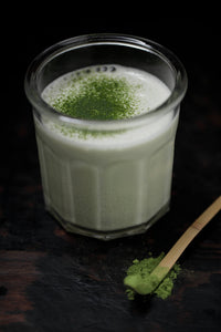 Cold-Pressed Matcha Almond Milk