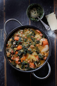 Minestrone with Seasonal Vegetables