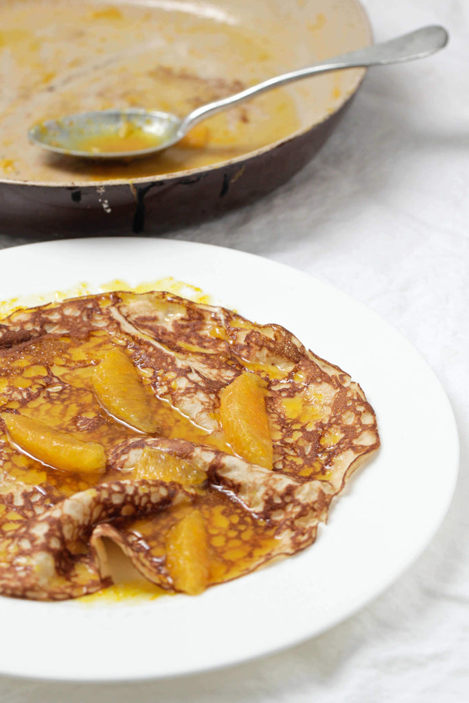 Coconut Crepes Suzette Recipe The Healthy Chef