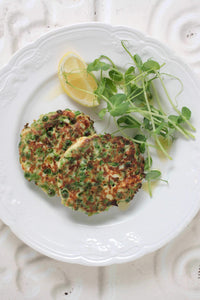 Green Pea Fritters