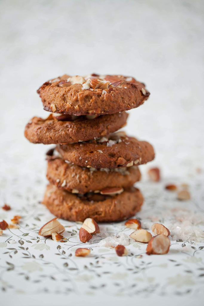Salted Nut Butter Cookies