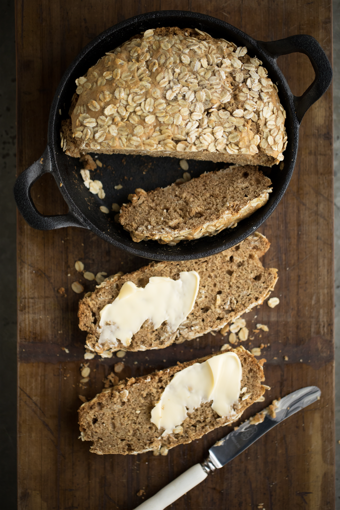 Milk + Honey Soda Bread