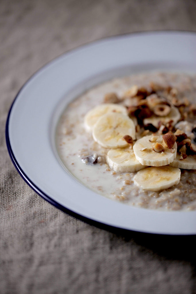 Almond + Chai Oat Porridge