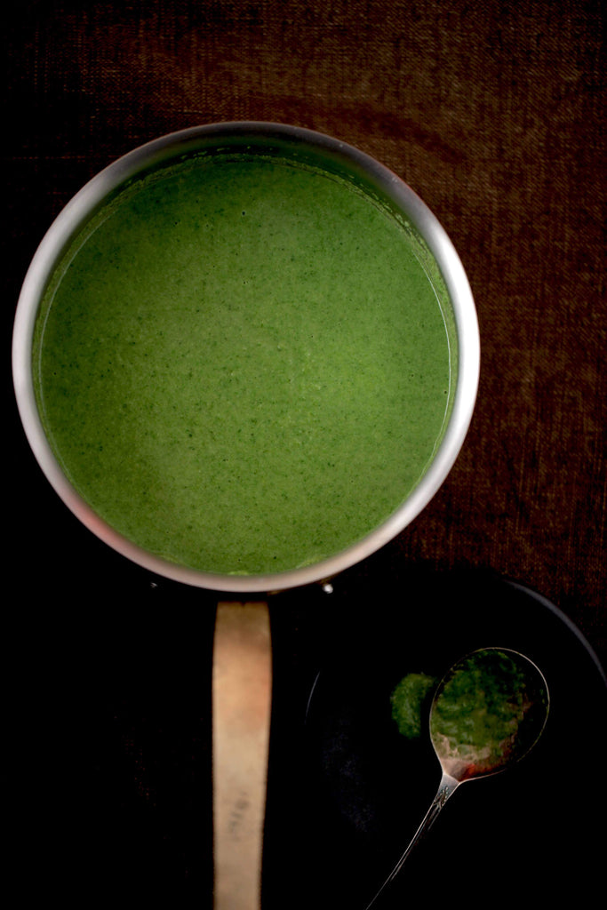 Detox Green Vegetable Soup
