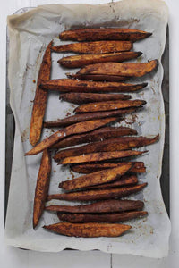 Cinnamon Roasted Sweet Potato