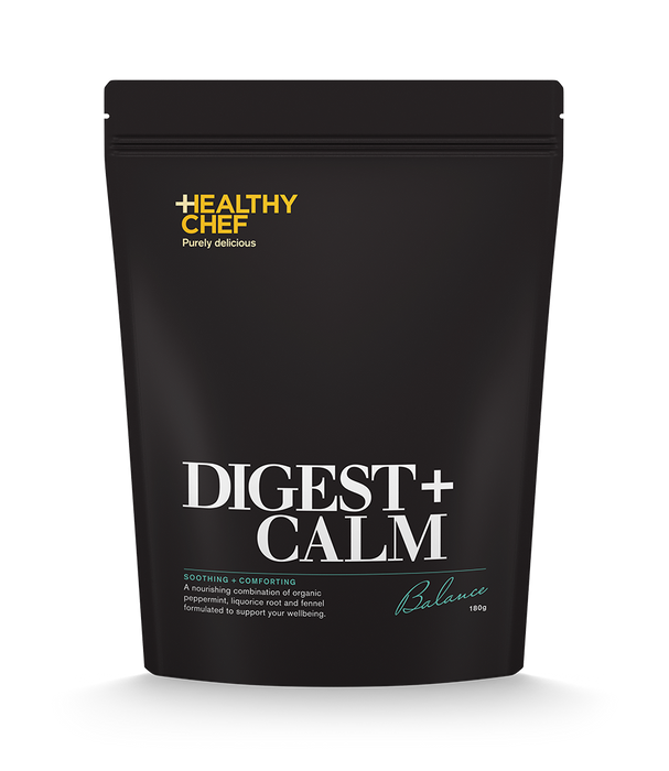 Digest + Calm loose leaf blends The Healthy Chef