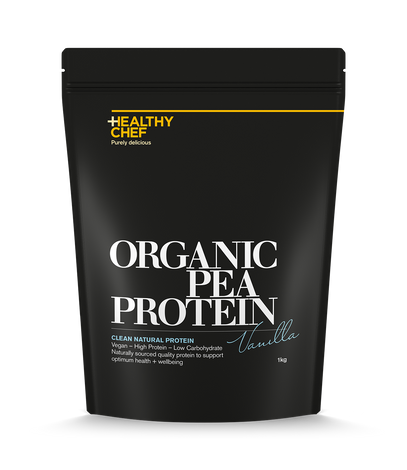 Organic Pea Protein Vanilla Protein The Healthy Chef