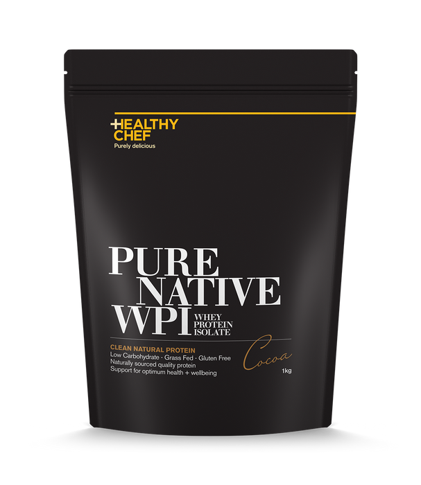 Pure Native WPI Cocoa Protein The Healthy Chef