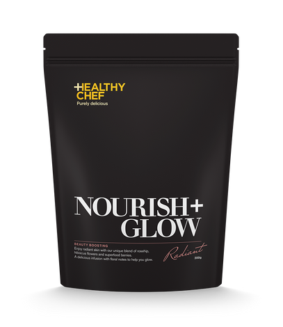 Nourish + Glow Tea loose leaf blends The Healthy Chef