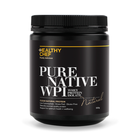 Pure Native WPI Natural Protein The Healthy Chef
