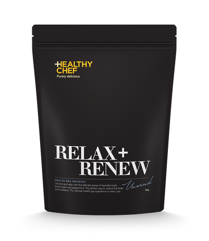 Relax + Renew Tea The Healthy Chef