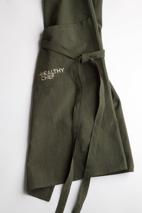 The Cook's Apron - Olive Green Accessories The Healthy Chef