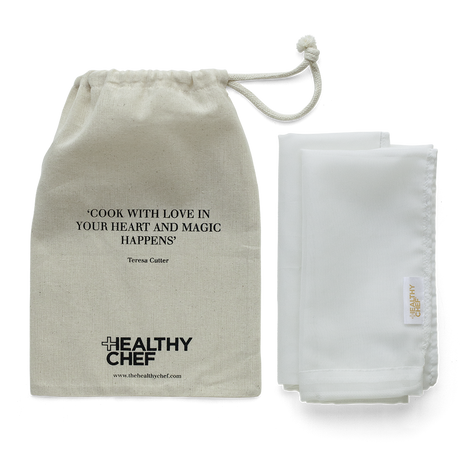 Chef's Grade Nut Milk Bag Accessories The Healthy Chef